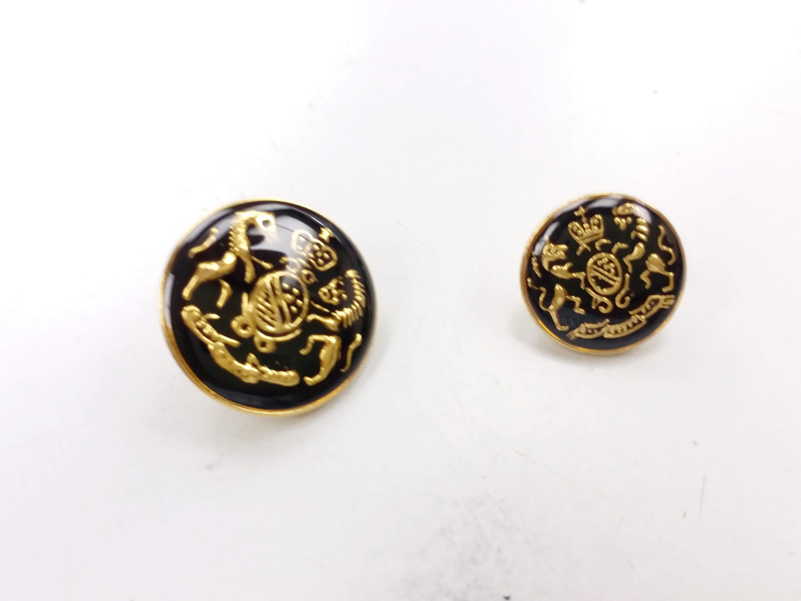 Metal Blazer Buttons - BZ111