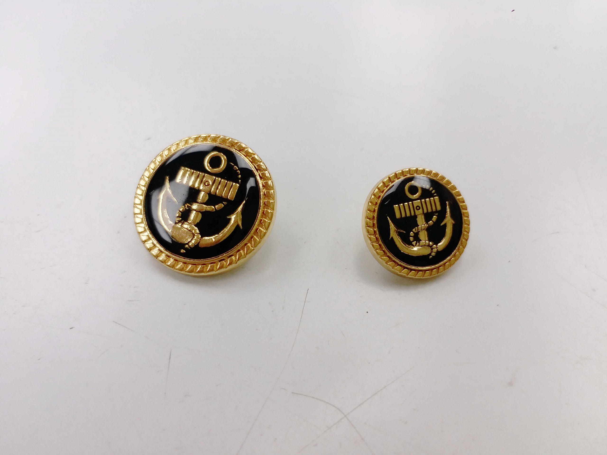 Metal Blazer Buttons - BZ115