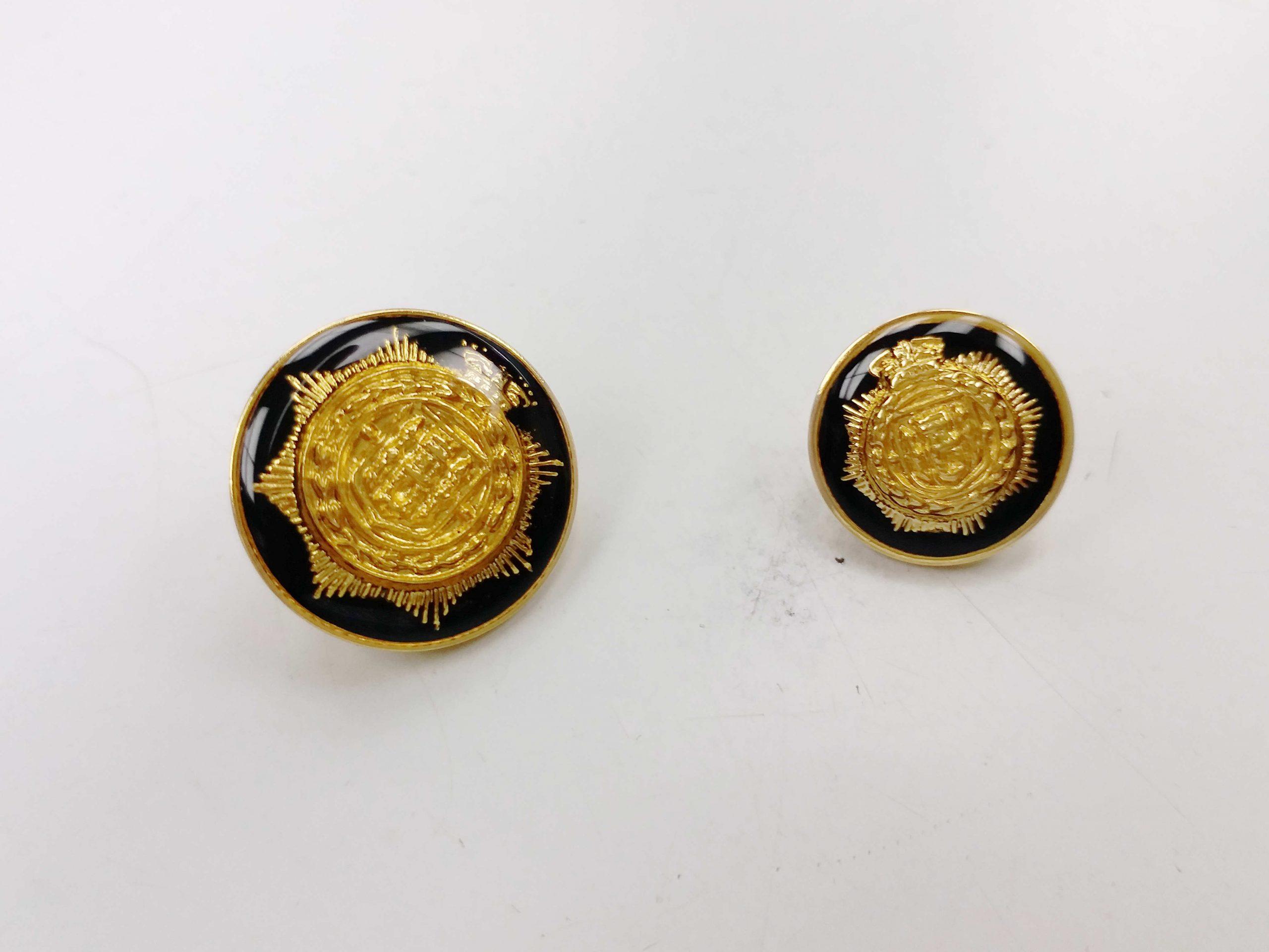 Metal Blazer Buttons - BZ124