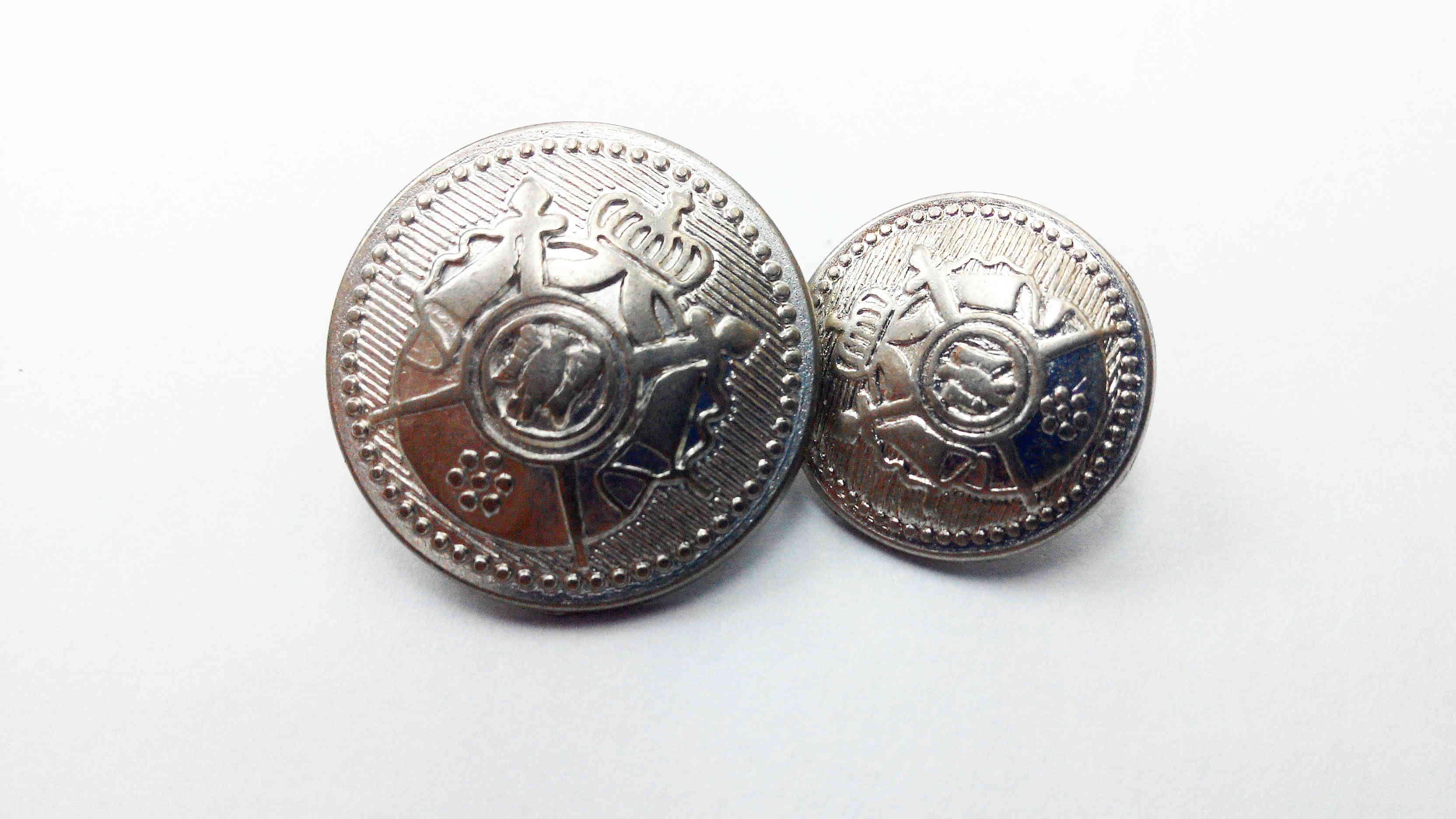 Metal Blazer Buttons - BZ101