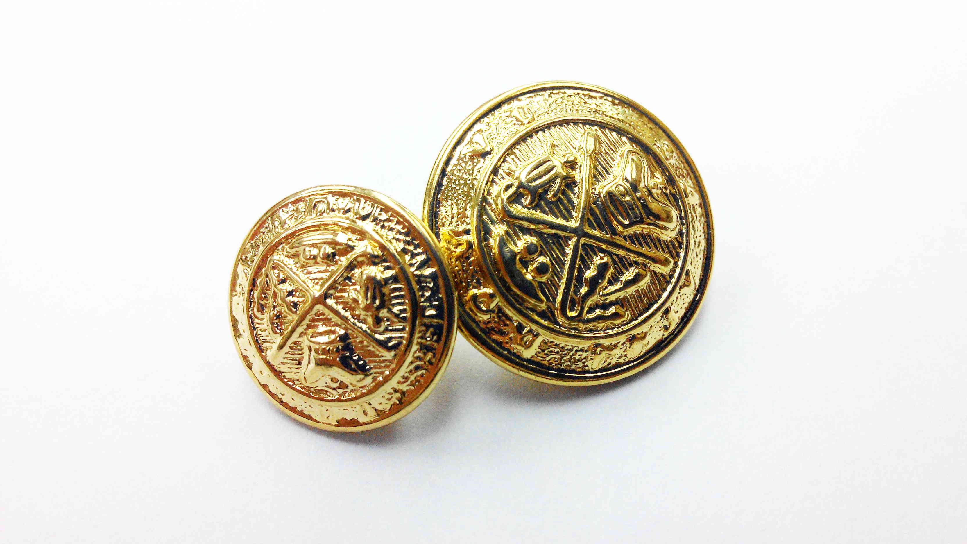 Metal Blazer Buttons - BZ102