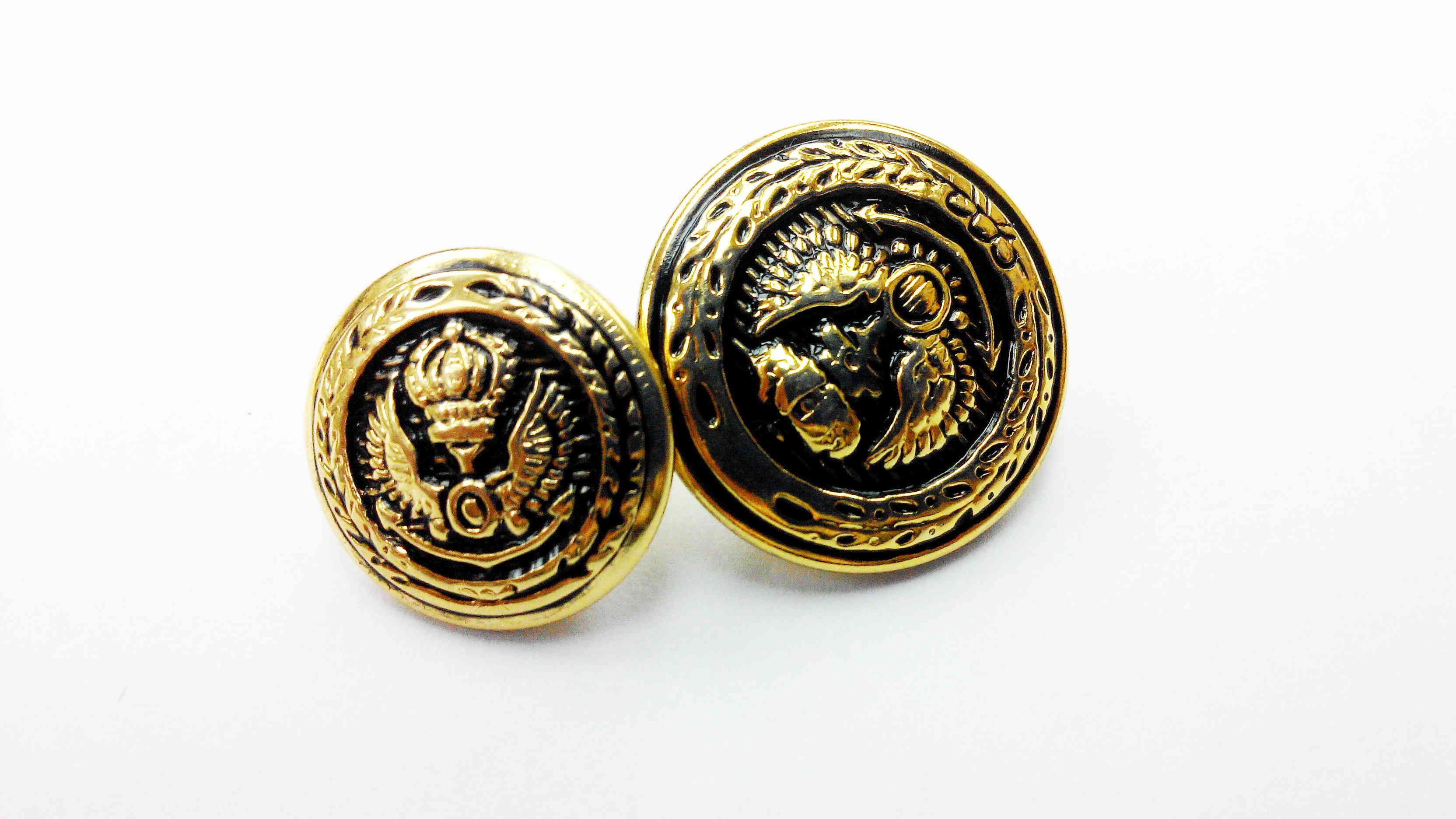 Metal Blazer Buttons - BZ103
