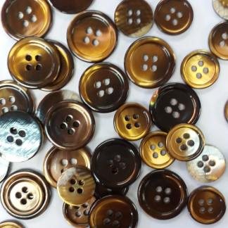 gold rod pearl buttons