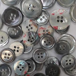 Light Gray Pearl Suit Buttons