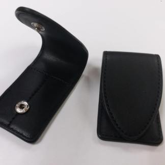 Imitation leather pouch for collar stays